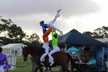 Swan Valley vaulters are riding high