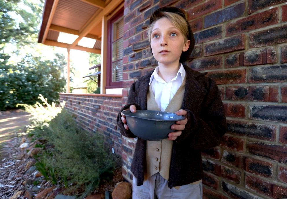 Lukas Steinwandel is taking on a classic role in Oliver. Picture: Matt Jelonek www.communitypix.com.au   d456790