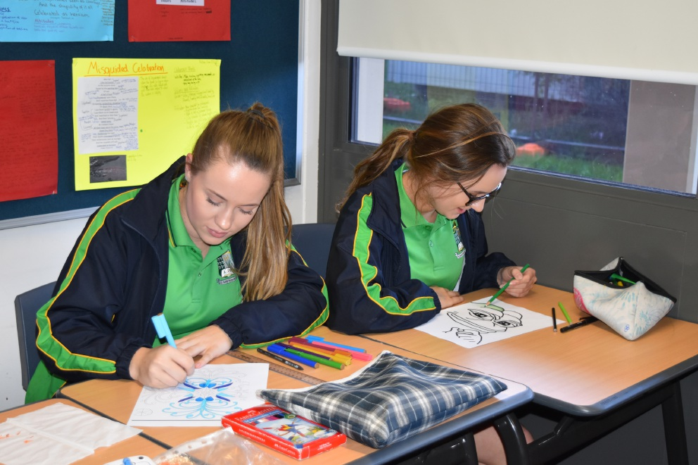 Peter Moyes students stress down day
