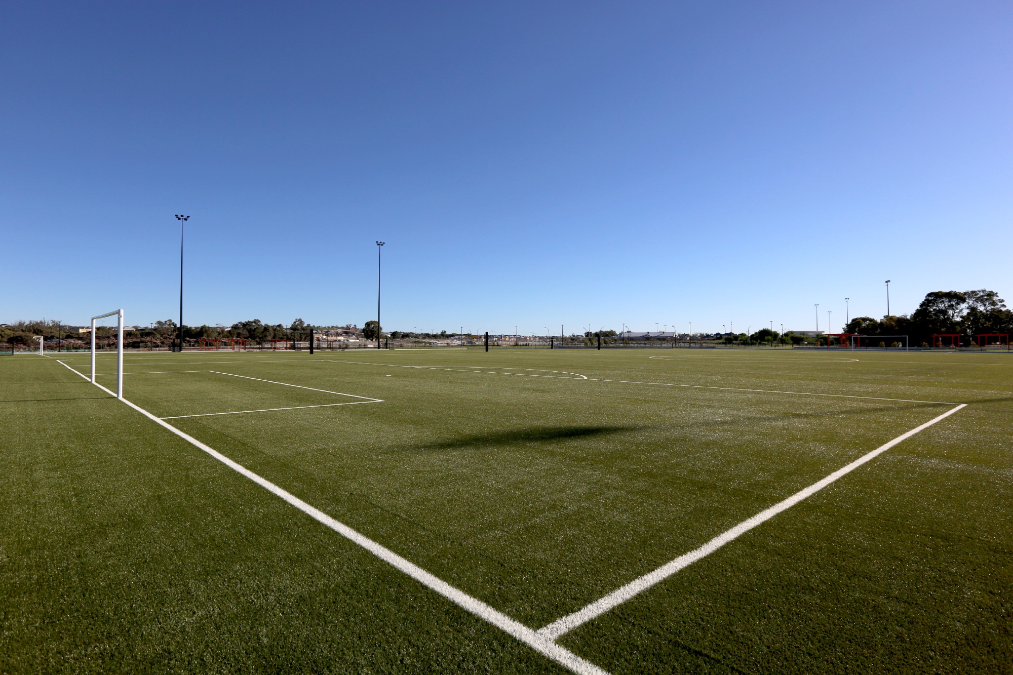 World-class pitches close for Ellenbrook District Open Space