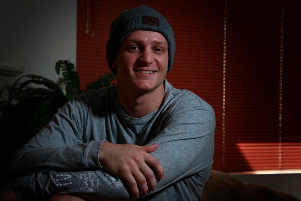 Pitcher Ben Shorto is battling cancer again. Picture: Marie Nirme www.communitypix.com.au   d456869