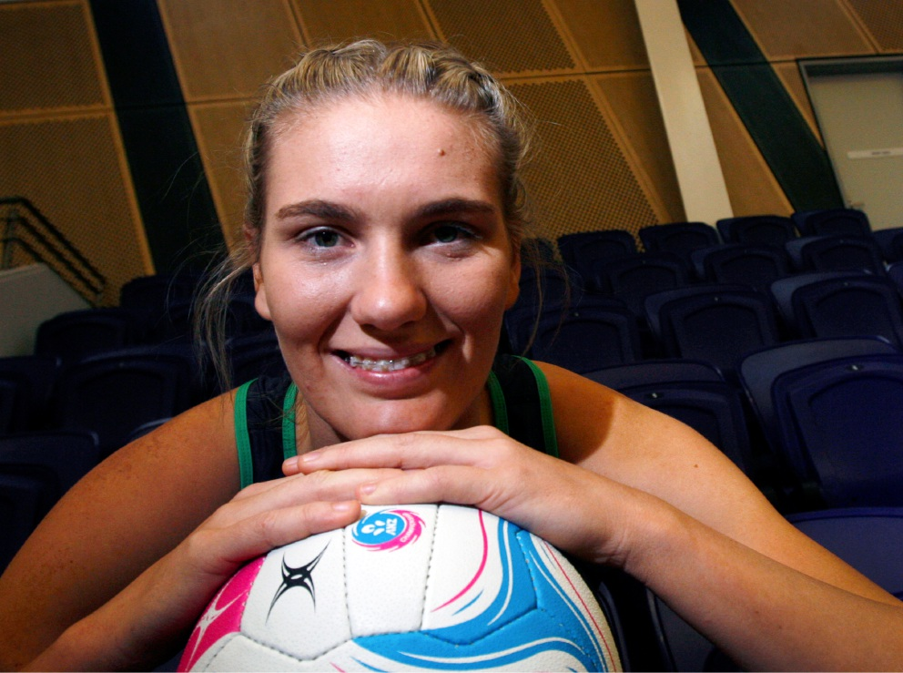 Courtney Bruce is enjoying a breakout season with West Coast Fever. Picture: Robin Kornet d453277