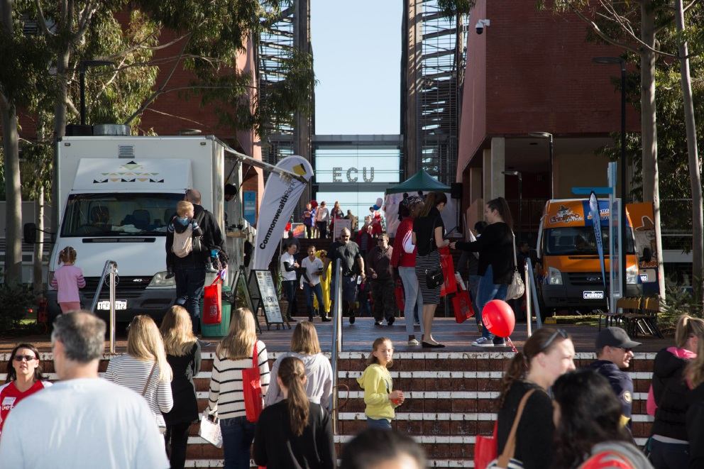Record numbers at ECU Joondalup open day