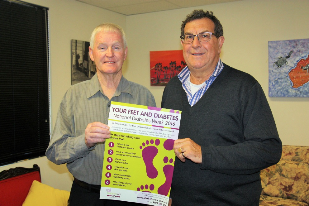 Mt Lawley MLA stepping out in support of diabetes sufferer