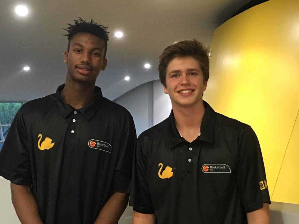 Derek Igbenoba and Zachary Harris