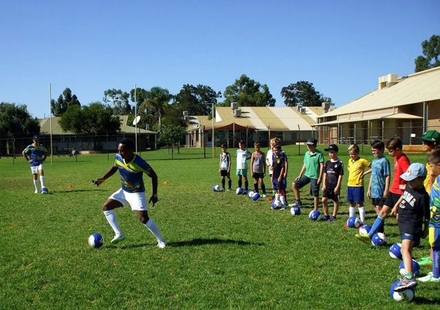 Campeao Soccer School launched for Mandurah soccer kids
