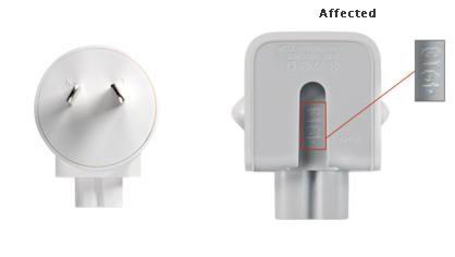 Apple issues recall on adapters due to shock risk