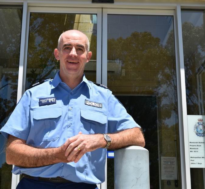 Mandurah officer in charge Stephen Thompson
