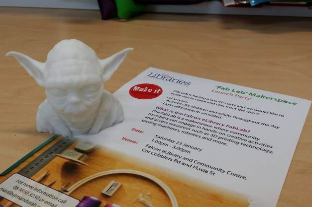 Yoda was the first 3D print to be made at FabLab