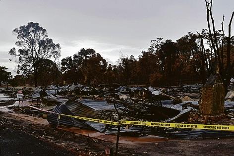 120 homes were lost in Yarloop