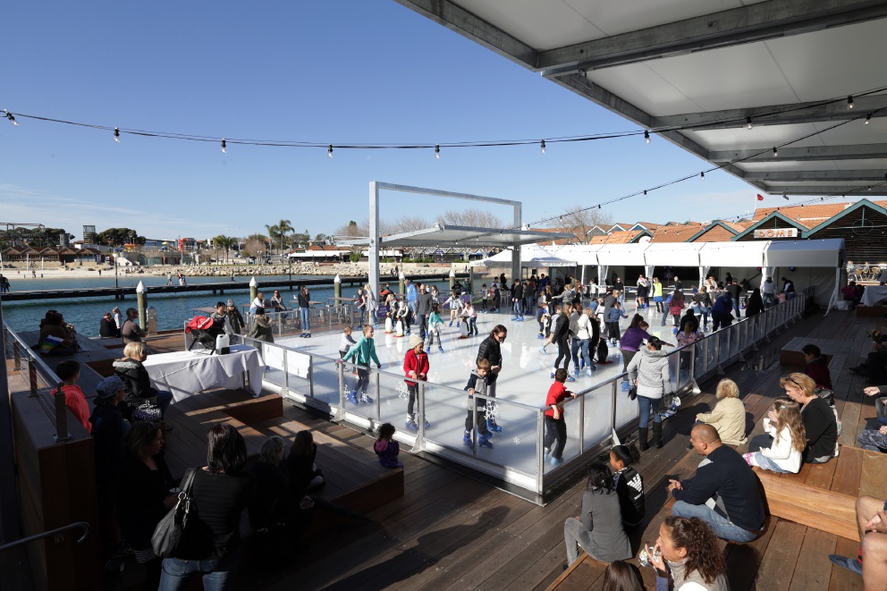 Hillarys Boat Harbour winter celebration Frostival warms hearts
