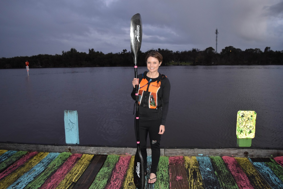 Baillie Liddle is predicting that next month's Avon Descent will the best ever.