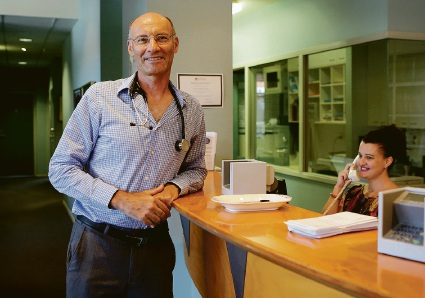 The doctor is no longer in: Melville GP Andrew Nyman is stepping down from practice to take care of his own health.