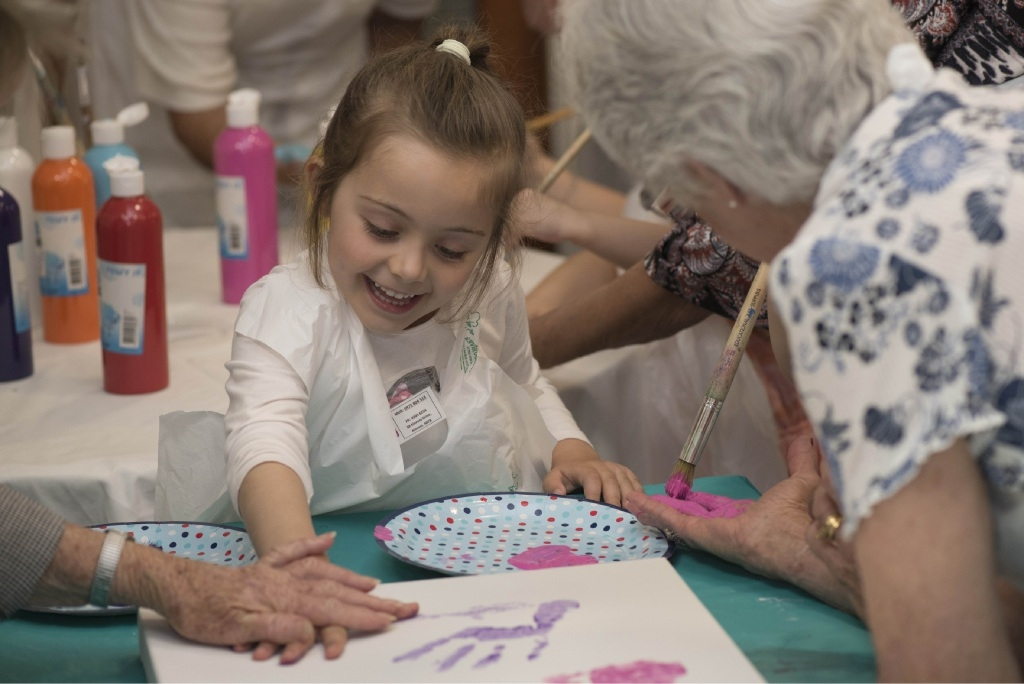 Project Picasso Brings Together Young and Old