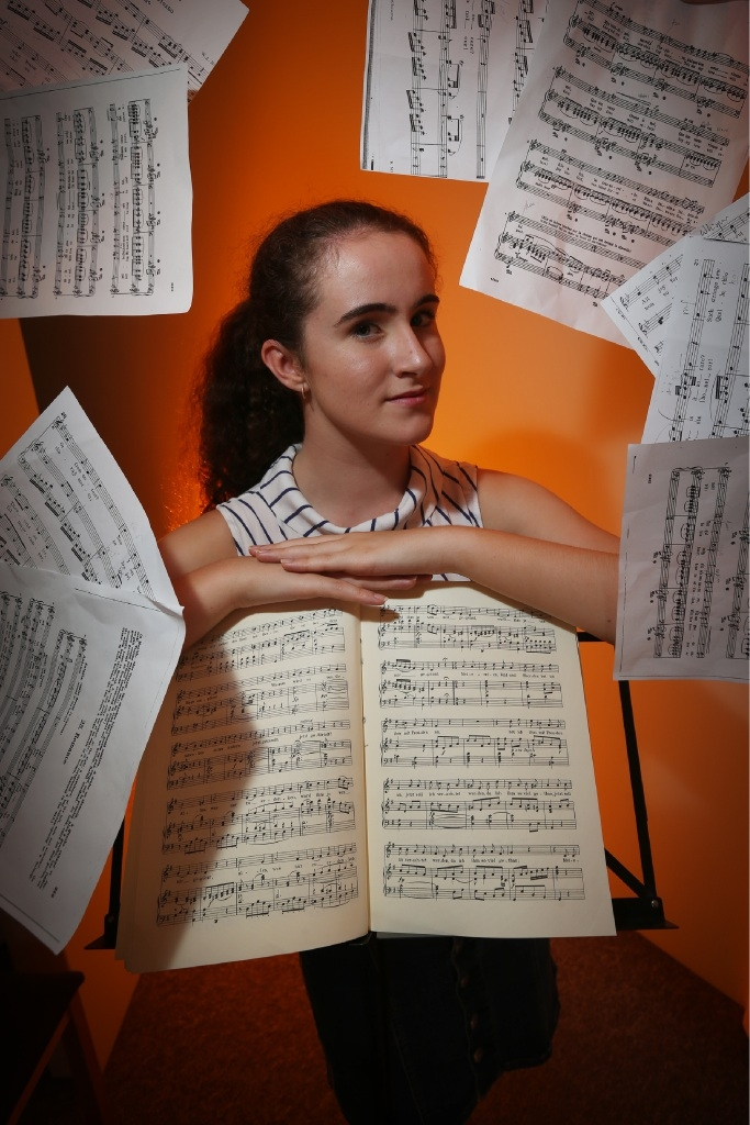 Ruth Bourke has won this year's Opera Australia Regional Student Scholarship for WA. Picture: Andrew Ritchie        d447303