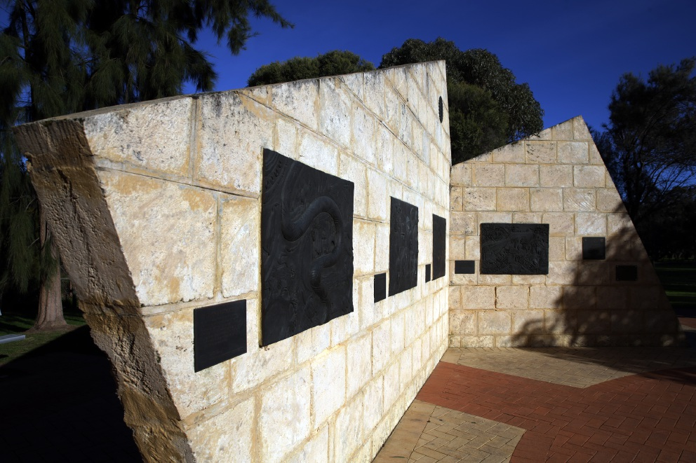 The Heritage Rotary Wall in Wanneroo.       d456896c