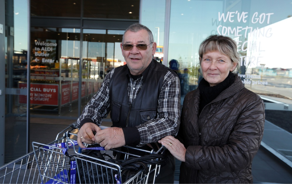 Cold no barrier to Aldi Butler opening