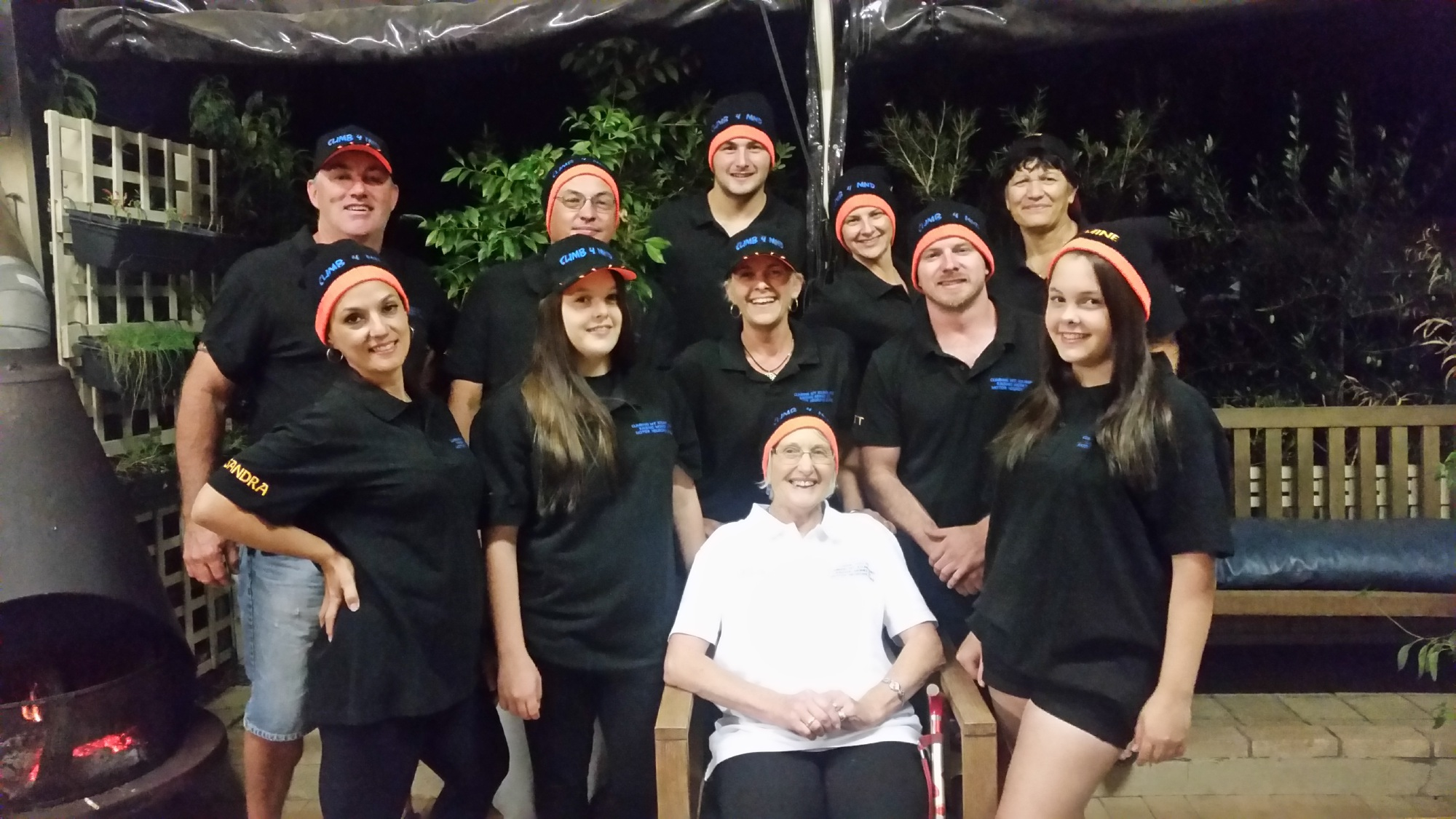 The team will climb Mt Kilimanjaro to raise money and awareness for Motor Neurone Disease. Picture: Supplied