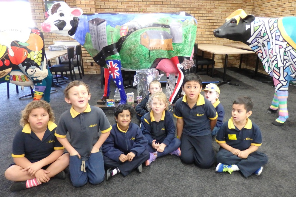 Midvale Primary School learnt about the diary industry and the benefits of eating diary products as part of the Picasso Cows program.