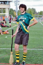 Quidditch selection is fantasy come true