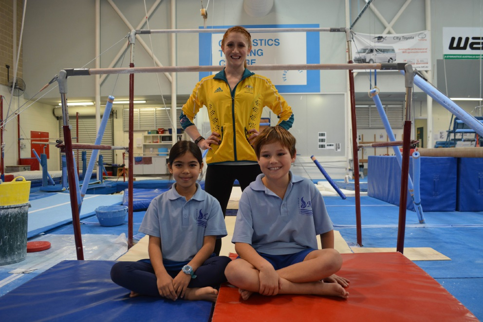 WA Olympians give Perth school students a taste of the Games