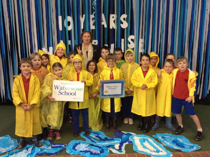 Mt Helena students have been water wise for 10 years.