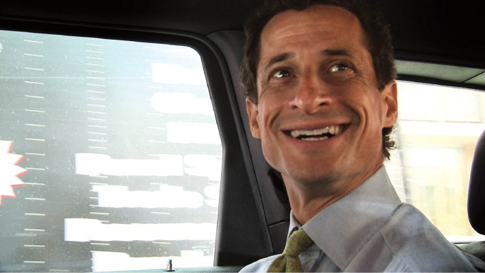 Disgraced American politician Anthony Weiner.