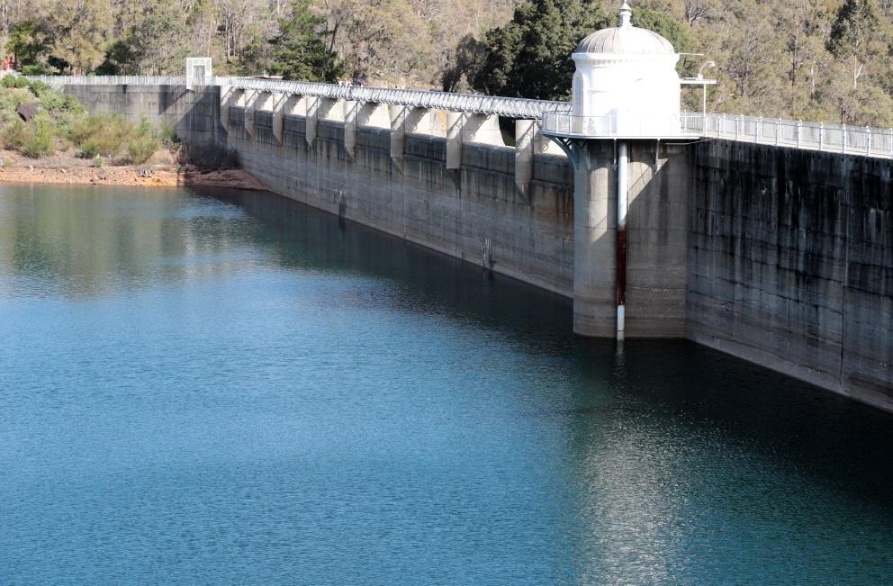 Mundaring Weir still low despite recent heavy rainfall