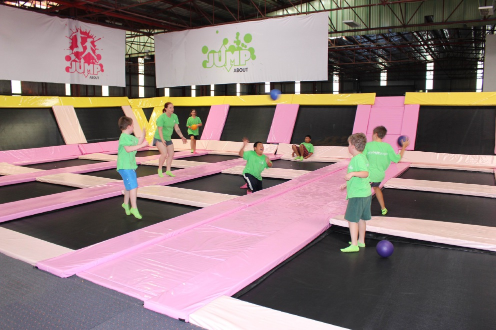 Families can enjoy the health and fitness program for free at Rivervale Jump About Park.