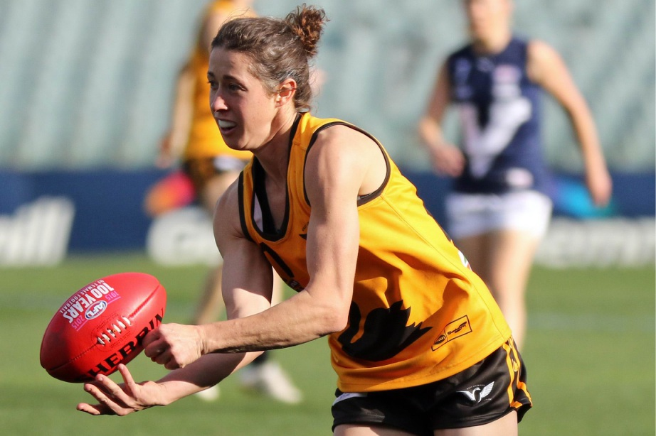 Renee Forth, pictured playing for WA, will captain Fremantle. Picture: Phil Barnes