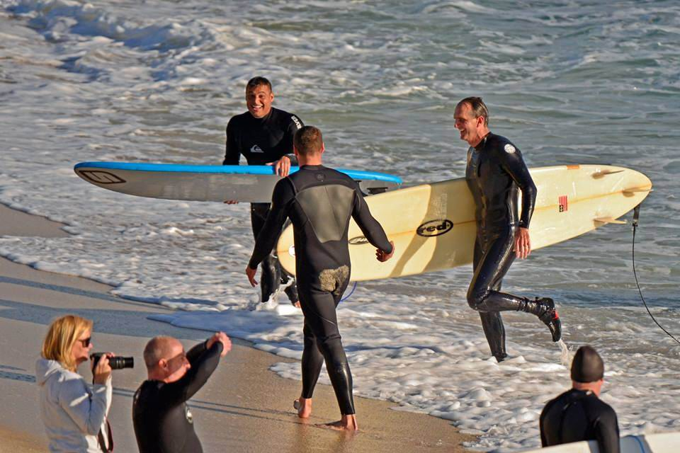 Tom's Surf Break: surfers have close encounter with shark