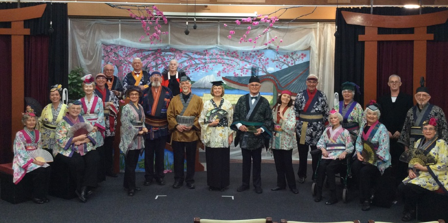 Manning Activity Centre stages sell-out production of The Mikado