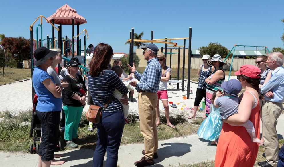 Padbury residents feeling adventurous over playground possibilities
