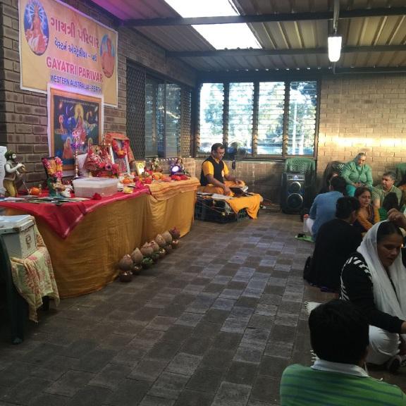 Hindus celebrate Gayatri Jayanti in Girrawheen