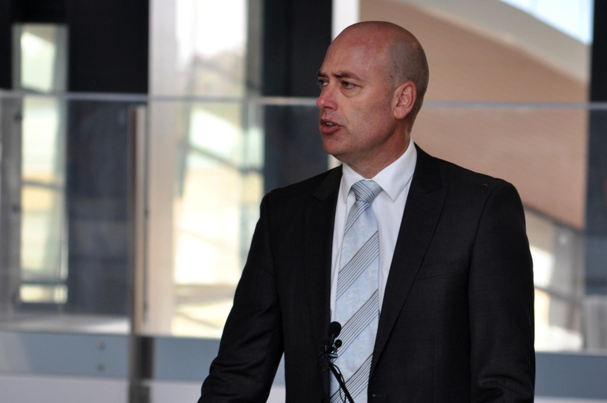 Dean Nalder delivered the blueprint for Perth's transport future last Friday.