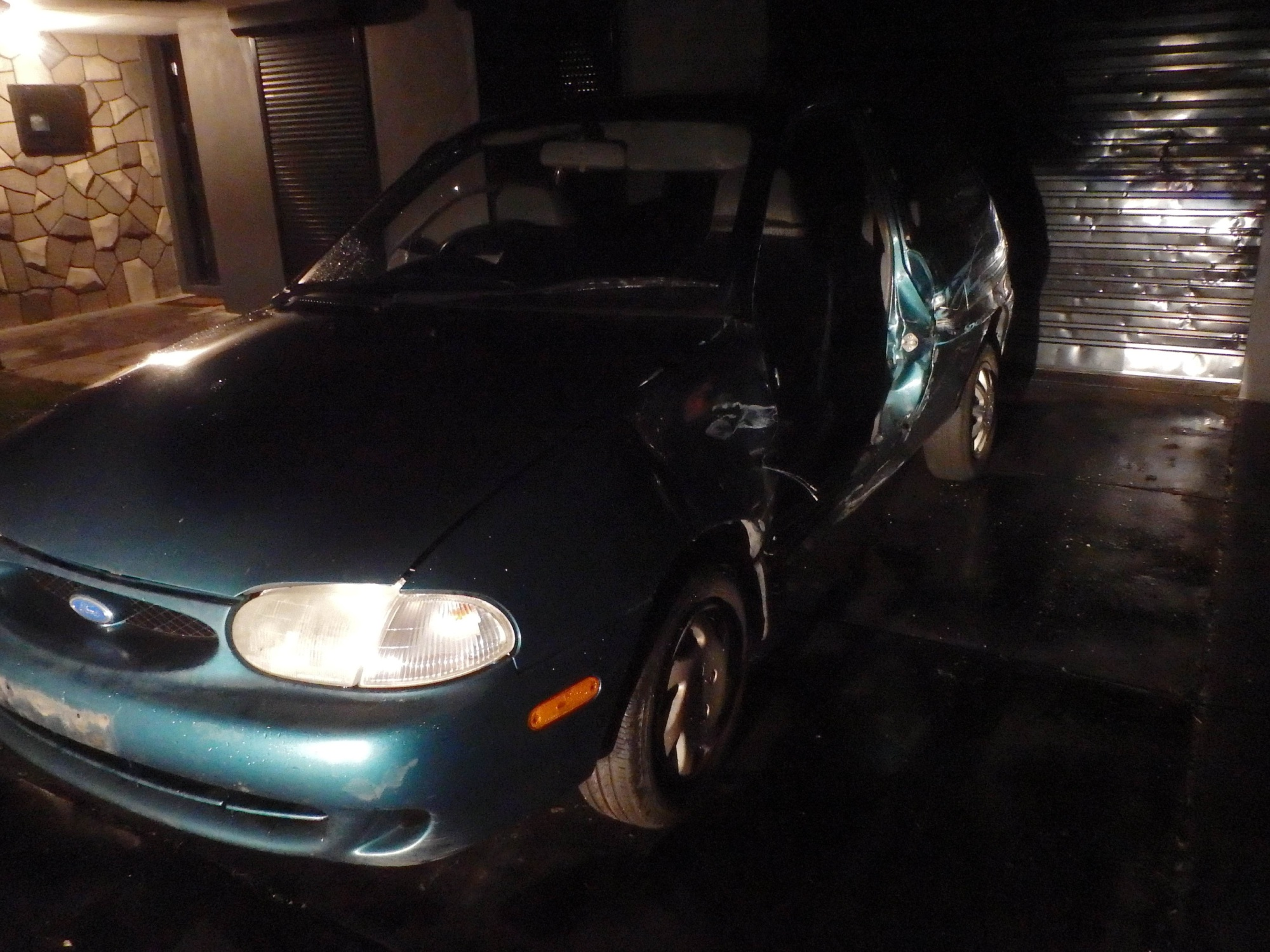 Police seized a vehicle of interest at a Warnbro house.