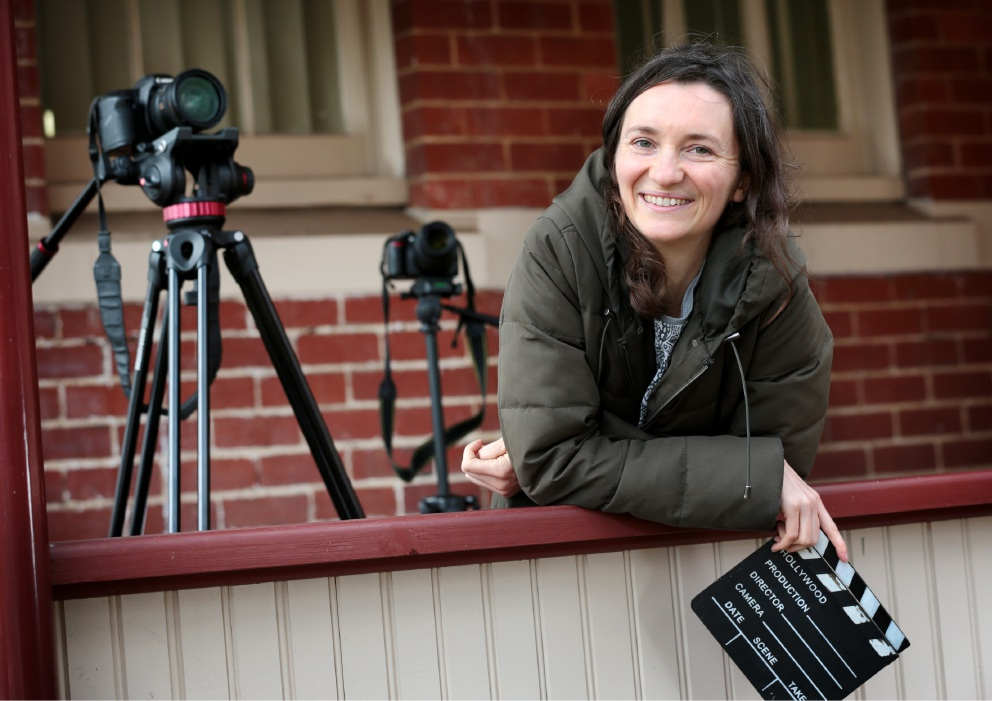 Film maker shares life experiences with local audiences