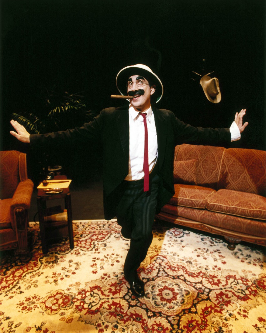 Frank Ferrante as Groucho Marx.