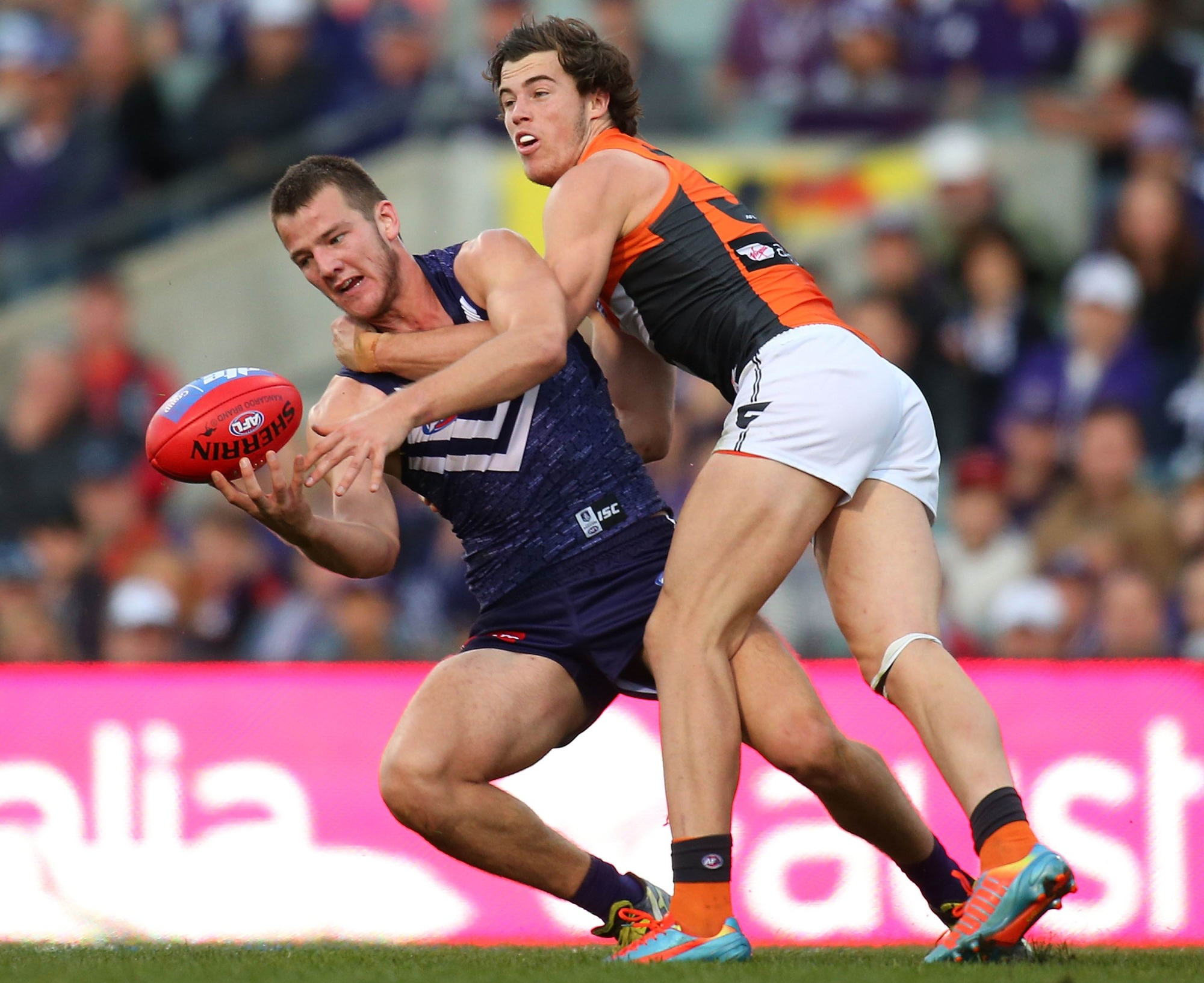 Fremantle's Michael Apeness has signed a new two-year contract extension. Picture Paul Kane / Stringer