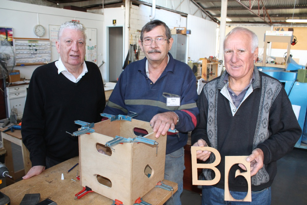 Belmont Men's Shed providing an important place and service for retirees