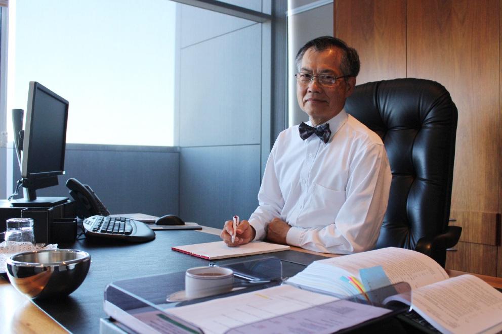 Mayor Paul Ng.