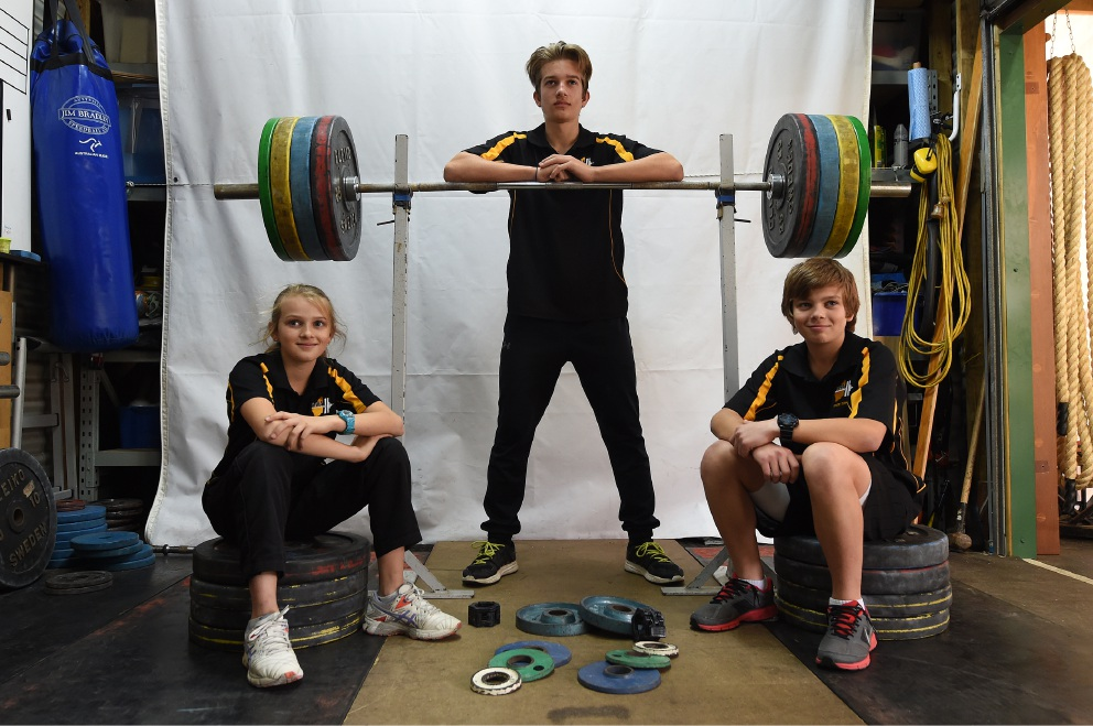 Saxton children carry weight of surname in their stride