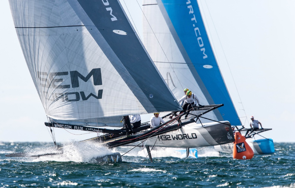 The Redline Racing team, made up of members from the Fremantle Sailing Club and South of Perth Yacht Club, won bronze at the recent World Match Racing Tour Final.