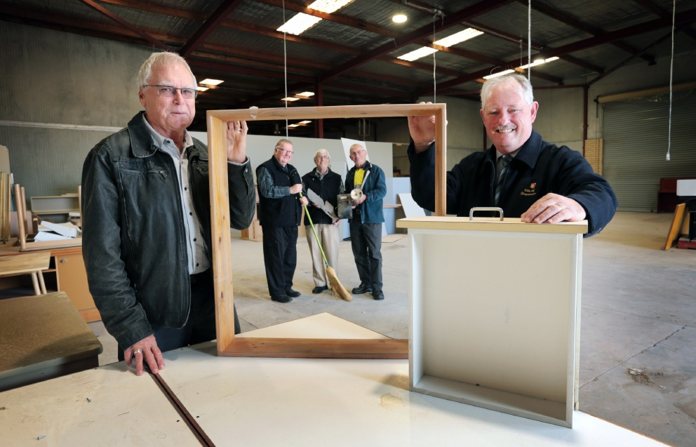 Bayswater Community Men's Shed to open on Tuesday