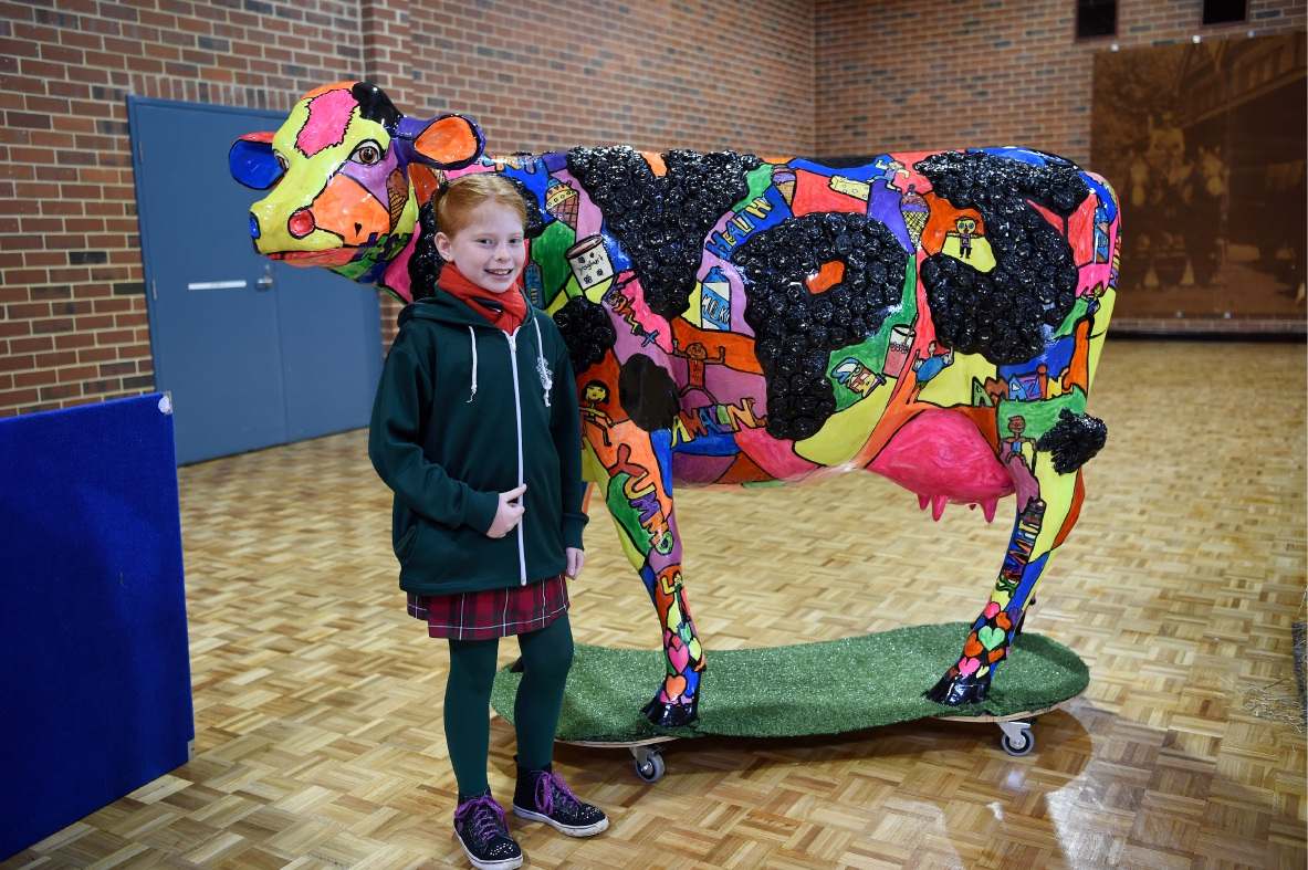 Canning Vale Primary Year 4 student Ella McGoldrick.