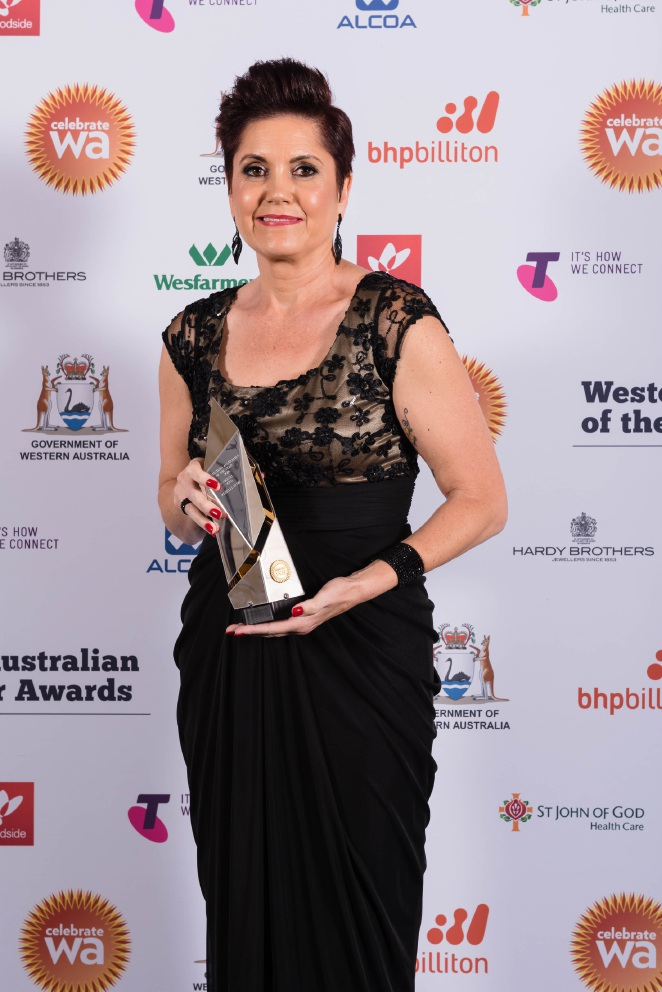 Rishelle Hume claims WA Aboriginal award at Western Australian of the Year ceremony