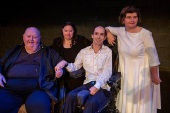 Tina Fielding, Kristi McInerney, Kim O'Neill and Michael Tilbrook were in the recent Poles Apart production The Good, the Bad and the Ugly.