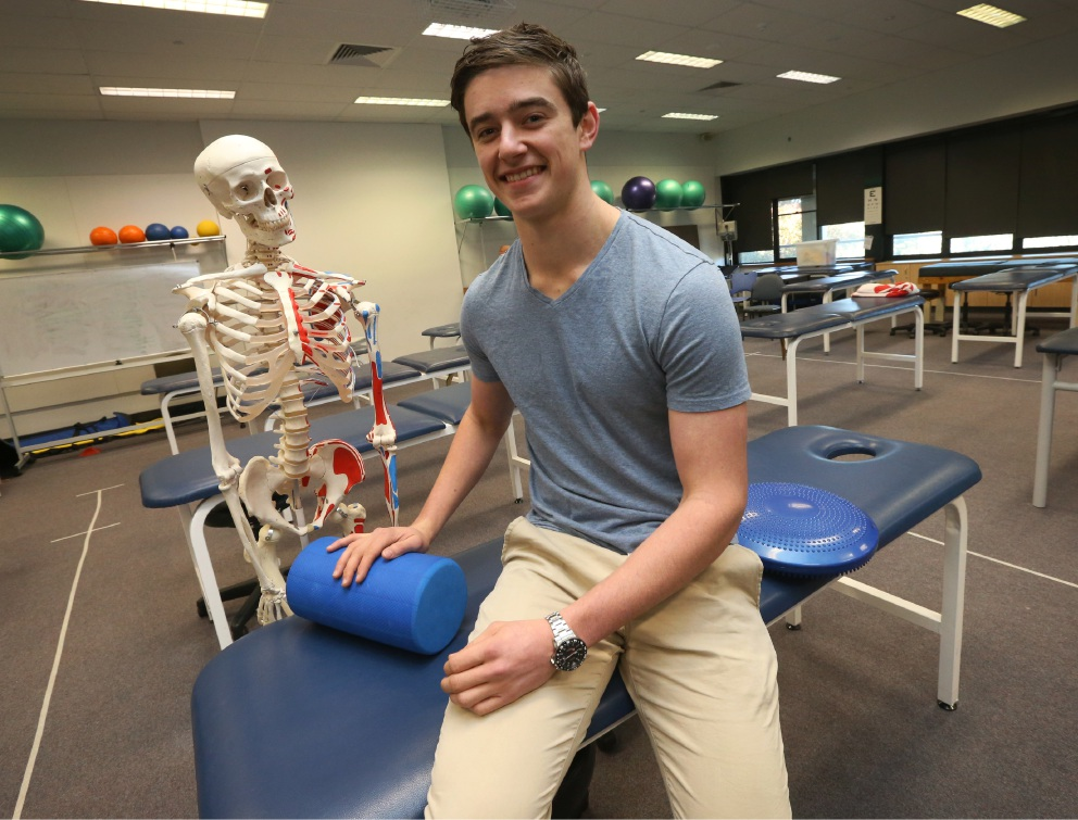 Murdoch University chiropractic student to feature in new advertising campaign
