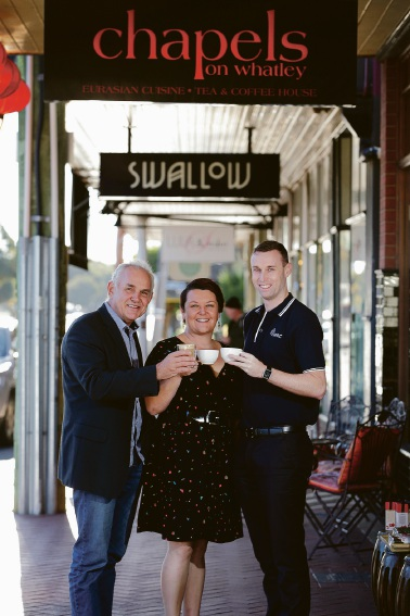 Maylands tourist credentials to be spruiked in high-class hotels