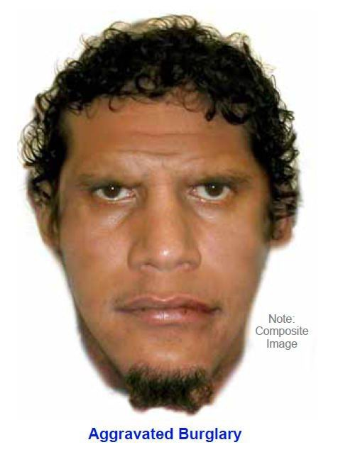 A composite image of the man police want to speak with.